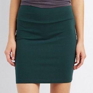 NWT Charlotte Russe Bodycon Mini Skirt